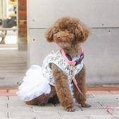 寵物衣服狗狗衣服夏裝薄款透氣可愛泰迪貴賓公主裙小型犬狗背心寵物衣服夏(行衣)