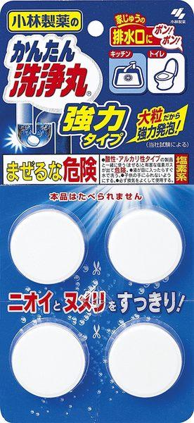 【大/中/小】日本 小林製藥 水管 清潔碇 除菌 消臭 廚房 浴廁 三盒入【小福部屋】