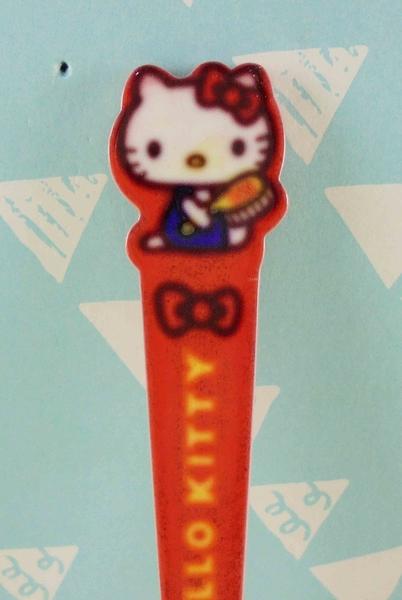 【震撼精品百貨】Hello Kitty 凱蒂貓~KITTY眉毛夾-紅色