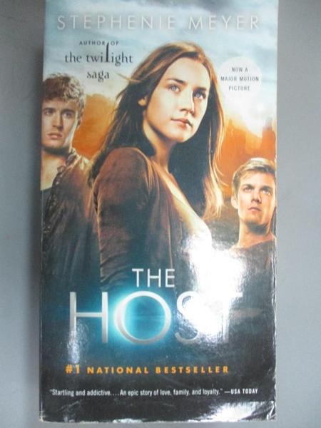 【書寶二手書T1/原文小說_HHH】The Host-A Novel_Meyer, Stephenie