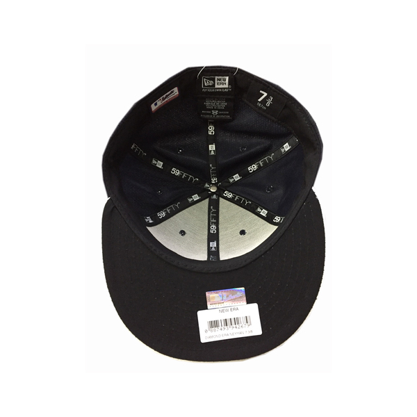 MLB NEW ERA Fitted Cap [5331333-025] 男款 大聯盟 紐約 洋基 選手 棒球帽 黑白