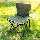 戶外摺疊便攜式成人釣魚靠背椅 超輕簡易家用寫生休閒小椅子 簡約igo 溫暖享家
