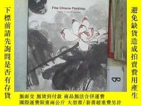 二手書博民逛書店PAIDEGAO罕見Fine Chinese Paintings