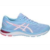 Asics Gel-Cumulus 20 D [1012A006-402] 女鞋 運動 慢跑 休閒 寬楦 水藍 亞瑟士