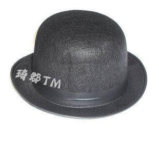 COS道具橢圓黑色禮帽