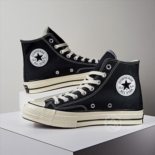 Converse Chuck Taylor All Star'70 新製 黑色 高筒 1970 三星標 162050C