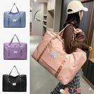 旅行包 短途旅行包大容量女旅游手提收納袋小型輕便學生行李包可套拉桿箱 愛丫 新品