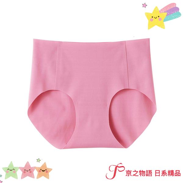【京之物語】現貨-日本製造Tuche完全無縫製粉色女性舒適無痕三角內褲(M.L)