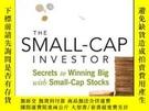 二手書博民逛書店The罕見Small-cap InvestorY256260 Ian Wyatt John Wiley &am