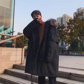 棉衣 棉衣男中長款冬季工裝棉服加厚韓版毛領外套潮流 莎瓦迪卡