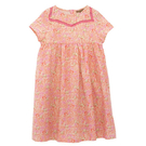 洋裝 I Love Gorgeous 珊瑚橘花卉貓咪短袖洋裝 SS15FC28CO