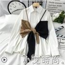 早春法式時尚春裝2021年新款設計感女襯衫洋氣小眾輕熟風職場上衣 小艾新品