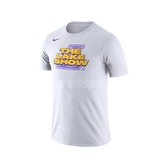 Nike 短袖T恤 Los Angeles Lakers Dri-FIT Tee 白 黃 男款 湖人 【PUMP306】 AT0813-100