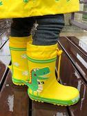 雨具 兒童雨鞋男童女童小童中大童幼兒園小孩寶寶防滑雨靴膠鞋水鞋套鞋