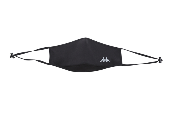 KAPPA 時尚運動口罩(非醫療用) 黑 341589W005