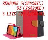 88柑仔店~GOOSPERY 牛仔帆布華碩ZENFONE 5 ZE620KL / 5Z ZS620KL手機殼插卡支架保護皮套 ZC600KL
