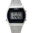 CASIO手錶 流線型銀色電子鋼錶NECA9