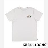 BILLABONG BOXED ARCH 短袖T恤 (白) 【GO WILD】