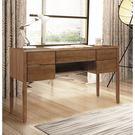 【森可家居】米雅淺湖桃4.2尺書桌 8SB225-4