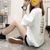 女裝上衣韓版寬鬆大碼中長款休閒T恤衫