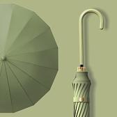 長柄直桿傘自動雨傘女加大號加固加厚兩用遮陽防曬長柄太陽傘【聚寶屋】