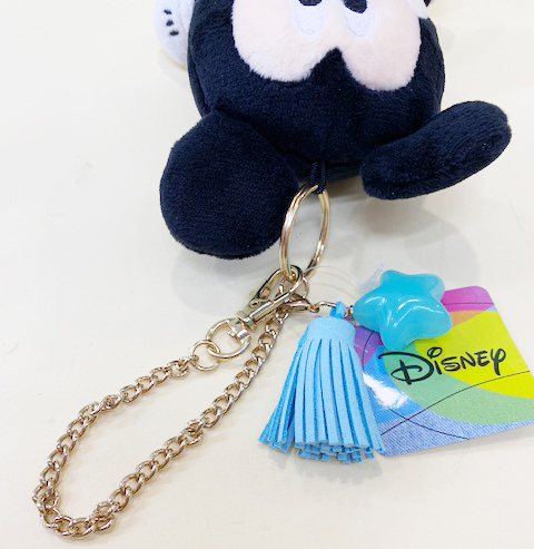 【震撼精品百貨】Micky Mouse_米奇/米妮 ~絨毛吊飾~牛仔穿衣服#00289