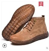 勞保鞋勞保鞋男士防砸防刺穿電焊工專用高筒超輕便防臭冬季工地工作棉鞋 貝芙莉