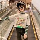 女童打底衫加絨厚兒童長袖T恤2020新款秋冬裝洋氣大女孩純棉上衣  【端午節特惠】