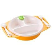 日康保溫碗寶寶注水保溫餐盤吸盤碗 嬰兒吸盤分隔格碗勺兒童餐具