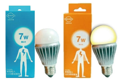 【南亞光電】省電超人LED節能燈泡--7W黃光,LED燈泡,節能省電