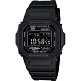 CASIO 卡西歐 G-SHOCK 太陽能電波手錶-黑 GW-M5610-1B / GW-M5610-1BJF