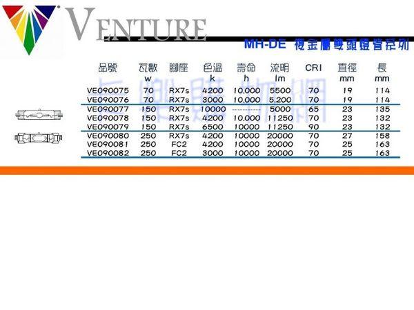 VENTURE 60248 MH-DE 70W/UVS/4K  _ VE090075