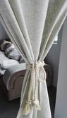 可愛時尚棉麻門簾329 廚房半簾 咖啡簾 窗幔簾 穿杆簾 風水簾 (80寬*180cm高)