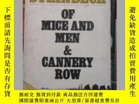 二手書博民逛書店Of罕見mice and men a Cannery row.(