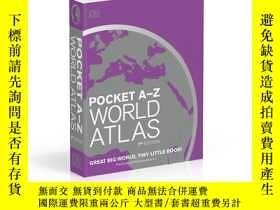 二手書博民逛書店Pocket罕見A-Z World Atlas 7th Edit