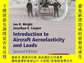 二手書博民逛書店Introduction罕見To Aircraft Aeroelasticity And Loads (aeros
