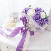 VIKI-婚紗攝影婚禮道具新娘手捧花結婚用品新款求婚手捧花仿真韓式花束 nm4205 【VIKI菈菈】