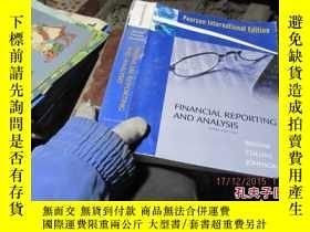 二手書博民逛書店financial罕見reporting and analysi