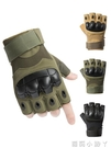 男士戰術手套特種兵露指格斗拳擊戶外騎行機車摩托運動半指手套 小艾新品