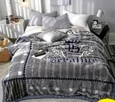 拉舍爾毛毯被子加厚冬季學生宿舍床單人珊瑚絨毯子保暖雙層法蘭絨CY『新佰數位屋』