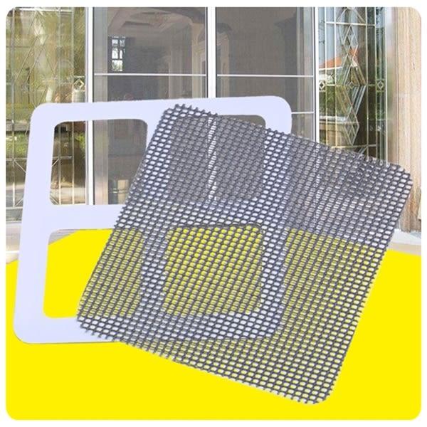 【紗窗修補貼】3入 門簾 紗門 窗戶 修補片 補洞 補破網 附雙面膠