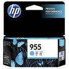 HP 955 L0S51AA 藍色原廠墨水匣
