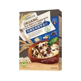 米森  有機藍莓腰果麥片 450公克  一盒