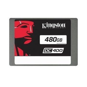 【新風尚潮流】 金士頓 DC400 SSD 企業型固態硬碟 480GB SEDC400S37/480G