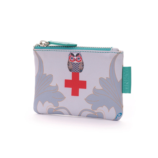 義大利 Papinee Owl Cosmetic Medical Case, Travel Kit Series 英國 貓頭鷹 旅行系列 隨身藥品袋
