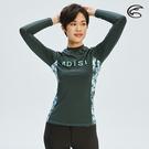 ADISI 女抗UV印花防磨防曬長袖上衣AR1913110 (S-2XL) / 城市綠洲 (水母衣、溯溪、浮潛)