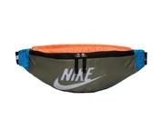 NIKE SPORTSWEAR HERITAGE 綠藍橘 大勾 腰包 側背 肩背 隨身小包  (布魯克林) BA6093-371