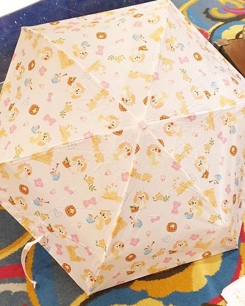 【現貨在台】廚師狗 cookie 【摺疊傘 附收納袋】香港代購 正版迪士尼樂園