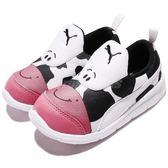 Puma 慢跑鞋 Bao 3 Zoo INF 白 黑 乳牛 無鞋帶設計 卡通設計 童鞋 小童鞋【PUMP306】 19010803