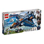 76126【LEGO 樂高積木】漫威英雄系列 Marvel - 復仇者聯盟終極昆式戰機 Avengers Ultimate Quinjet(838pcs)